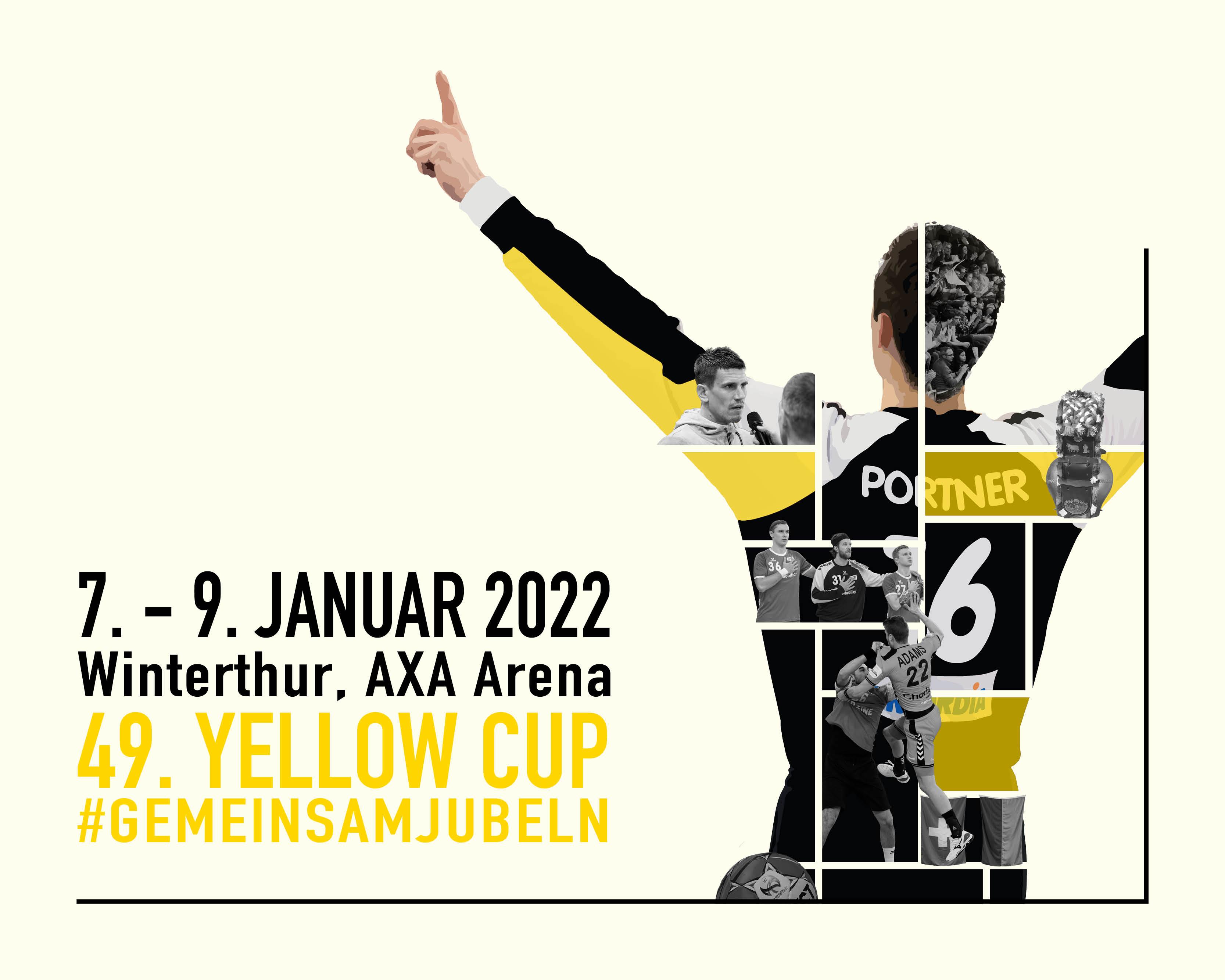 Gemeinsam jubeln am49. Yellow Cup