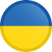 ukraine-flag-button-round